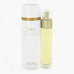 Perry Ellis 360 Perfume  By Perry Ellis, 1.7 Oz Eau De Toilette Spray For Wo Men