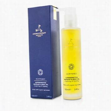 Support - Supersensitive Massag & Body Oil
