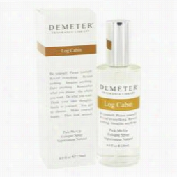 Demeeter Perfume By Demeter, 4 Oz Log Cabin Cologne Spray For Women