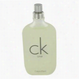 Ck One  Cologne By Calvin Klwin, 6.6 Oz Eau De To1lette Spray (unisex Tester) Formen