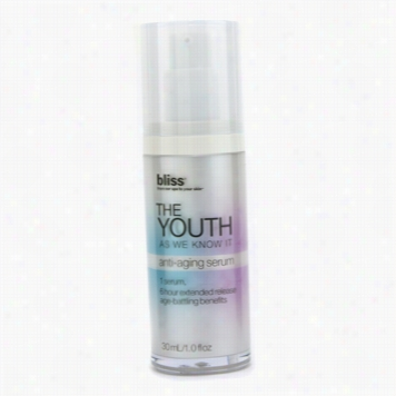 The Youth As We Know It Anti-aging Serum