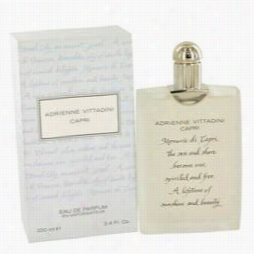 Capri Perfume By Adrienne Vittadini, 3.4 Oz Eau De Parfum Spray For Women