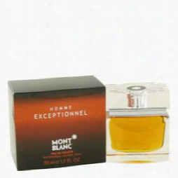 Homme Exceptionnel Cologne By Mont Blnc, 1.7 Oz Eau De Toileette Spary For Men