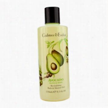 Avocado Olive & Basil Revitalising Bath & Showerg El