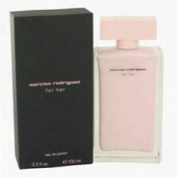Narciso Rodriguez Perfume By Narciso Rodriguez, 3.3 Oz Eau De Parfum Spray For Women