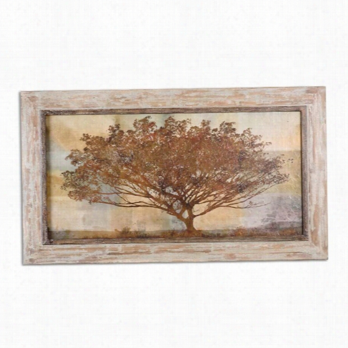 Uttermost Autumn Radaince Sepia Framed Art