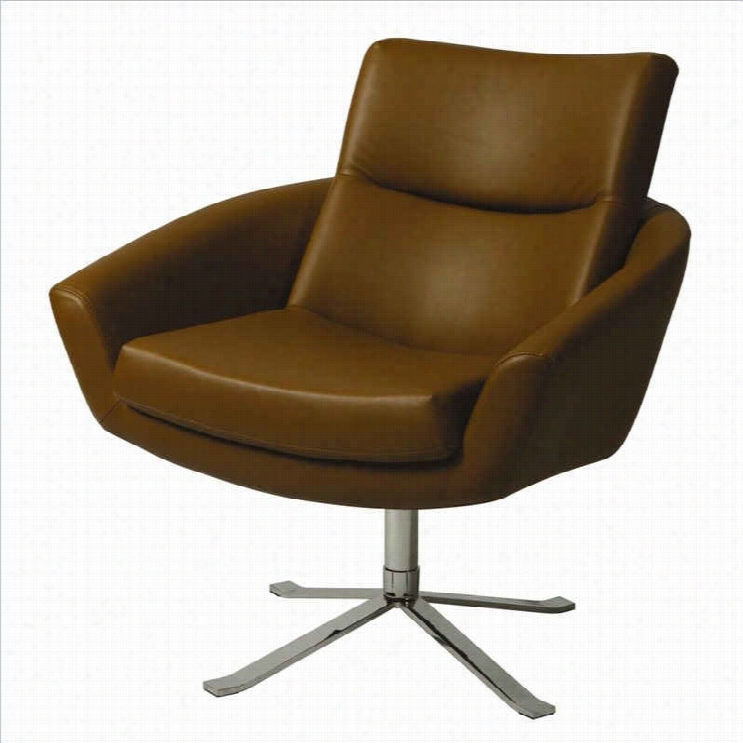 Pastel Furniture Aliante Club Chair In Brown
