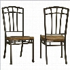 Home Styles Oak Hill Dining Chairs Pair in Oak