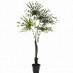 Nearly Natural 7' Fan Palm Tree UV Resistant (indoor-outdoor)