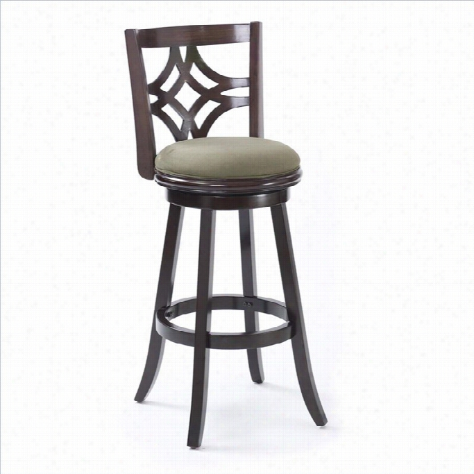 Corliving Woodgrove 29 Bar Stool In Brown