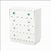 South Shore Little Monsters 4 Drawer Chest in Pure White