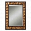 Uttermost Justus Decorative Gold Mirror in Distressed Mahogany