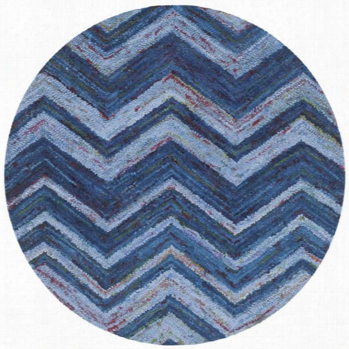 Safavieh Nantucket Blue Contemporaryrug Round 4 Online