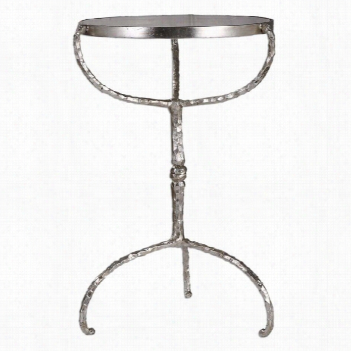 Uttermost Halcion Acs T Iron Accent  Table