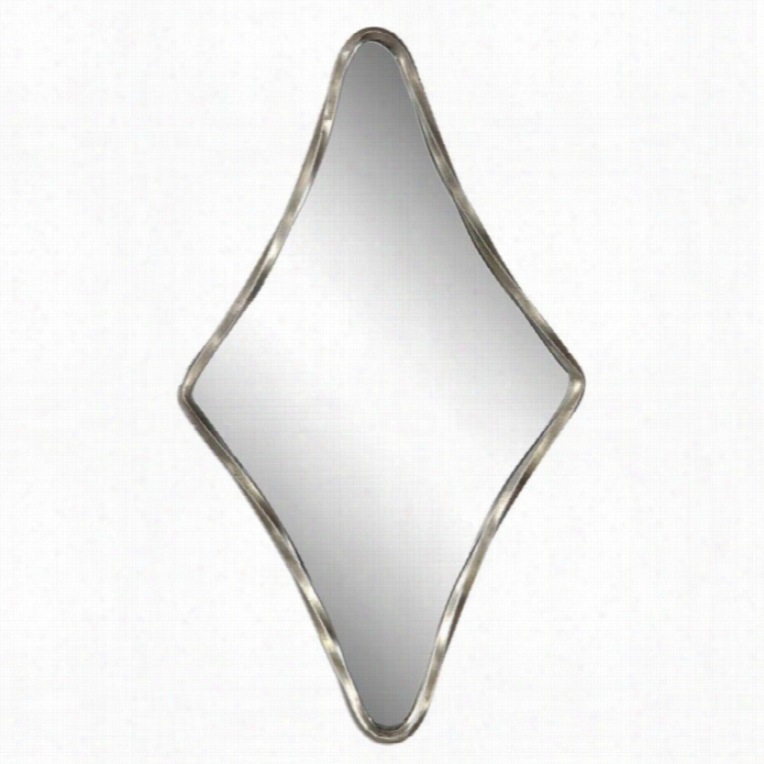 Uttermost Drava Silver Diamond Mirror
