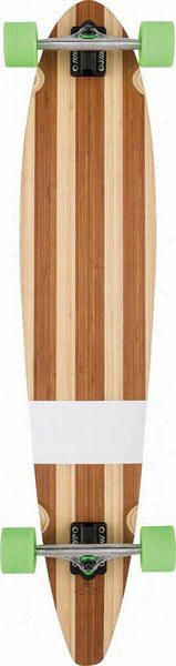 Globr Big Pinneer Bamboo Long Board Complete