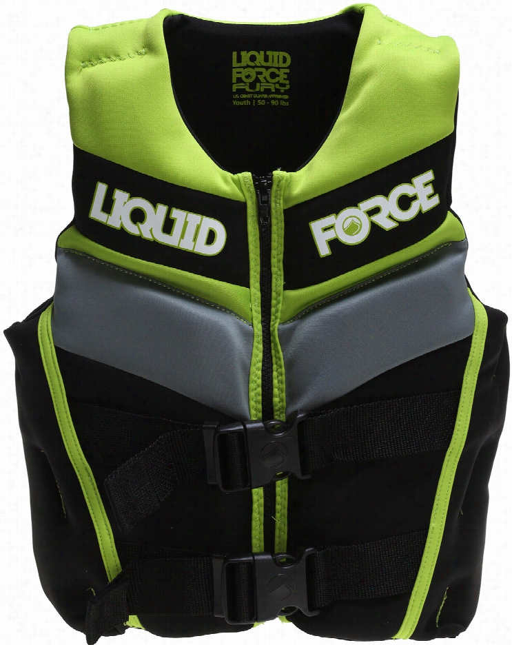 Liquid Force Fury Cg A Wakeboard Vest