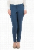 eShakti Women's Stretch twill ankle pants