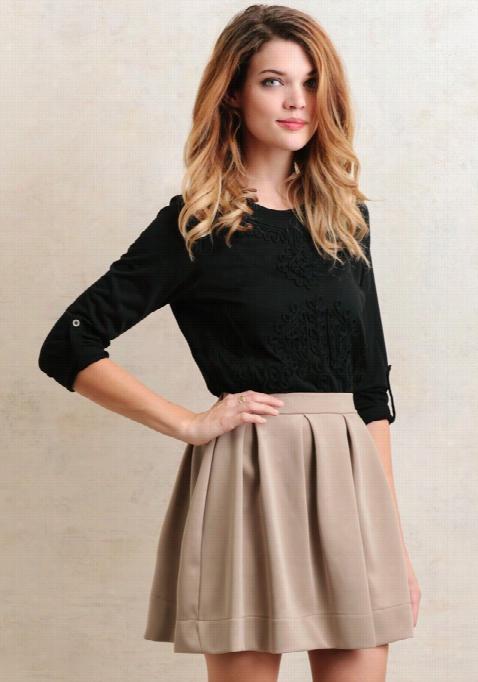 Lexington Place Peated Skirt