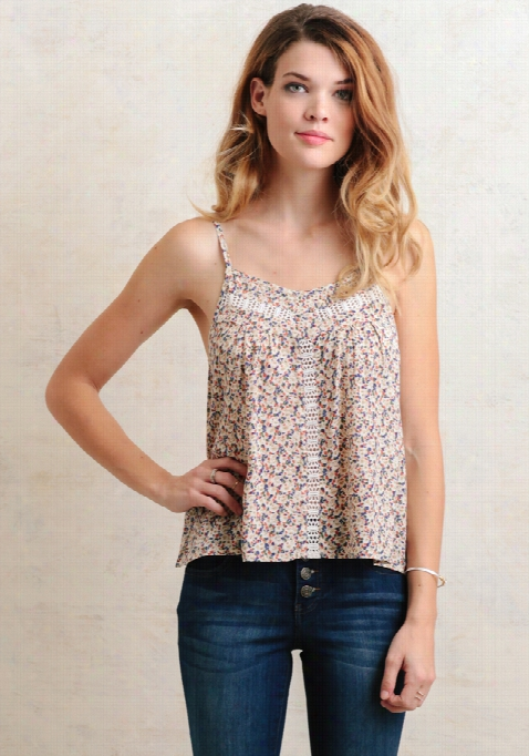 Orchid Garden Floral Tank