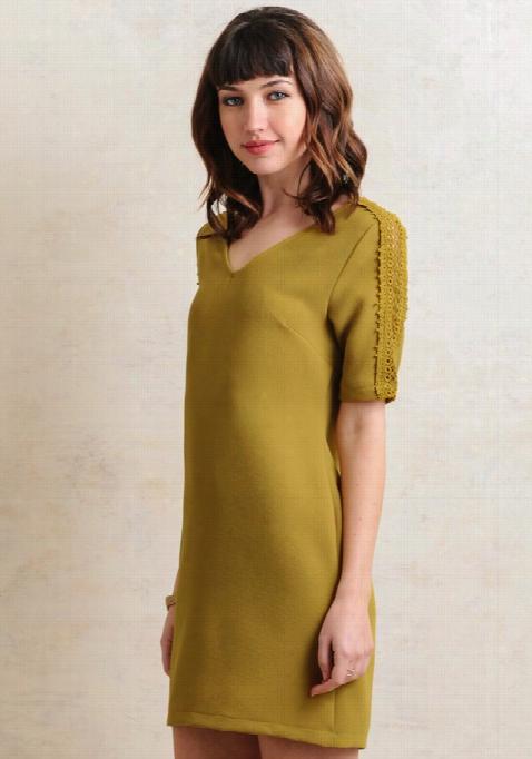 Thorntoj Rochet Accent Dress