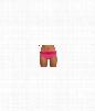 Cabana Banded Bikini Bottom Color: Pink Size: 8