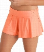 Finesse Flirty Swim Short Color: Coral Size: 12