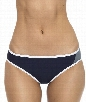 Block & Tackle Retro Bikini Bottom Color: Navy Size: 8