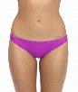 Core Solids Tab Side Bikini Bottom Color: PUR Size: XS