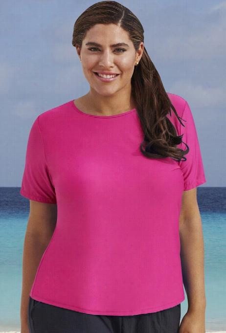 Swim 365 Pink Pqrdise Swim Tee