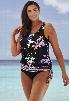 Beach Belle Windflower Blouson 26-34 Tankini