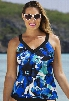Shore Club Shades of Swell V-Neck Sport Top