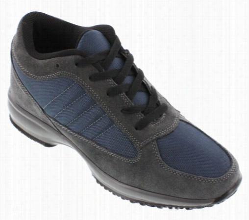 Calden - Fd012 - 3 Inch Es Taller (grey/navy Blue) - Super Lighweight