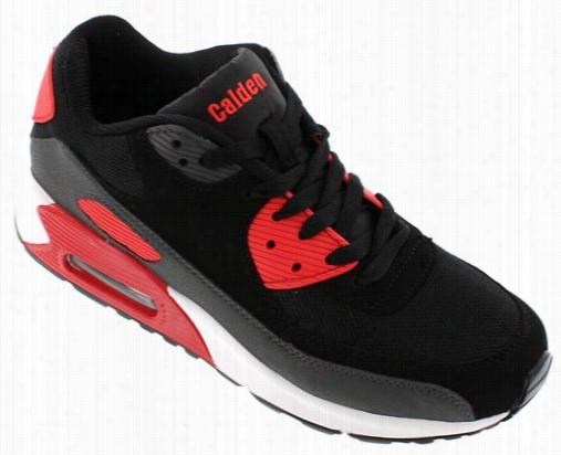 Calden - Fd015 - 2.6 Inches Taller (black/grey/red) - Super Lightweight