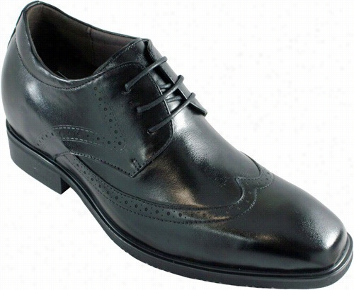 Calto - G20153 - 3 Inches Taller (black) - Size 6.5 Only