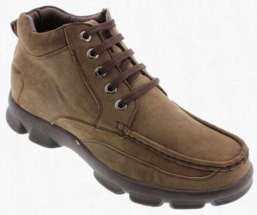 Calto - G63221 - 2.8 Inches Taller (nubuck Khaki Grey)