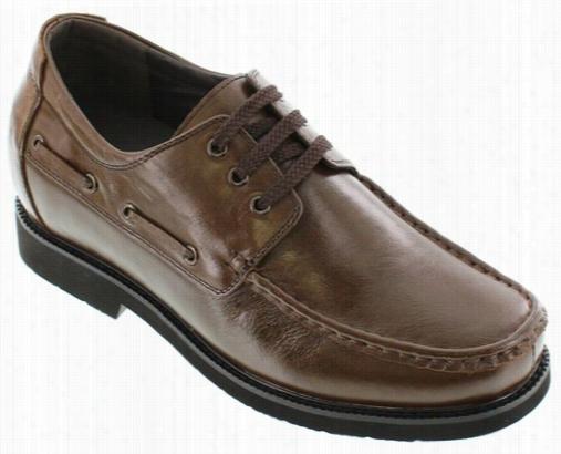 Calto - G7058 - 2.8 Inches Taller (coffee Brown) - Lightweight