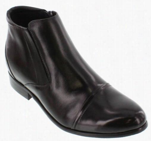 Toto - A2201 - 2.8 Inches Taller (dark) - Zipper Boots