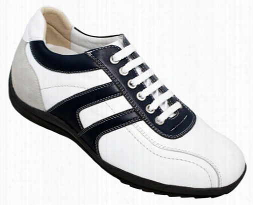 Toto - A66361 - 2.8 Inches Talleer (white & Blue) - Size 10 / 11 Only